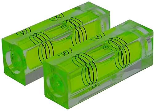 umei Alta Precisione Mini Livello Bolla Piccola Bolla Orizzontale Tre Linea Orizzontale Perla Livello Magnetometro 2 PZ...