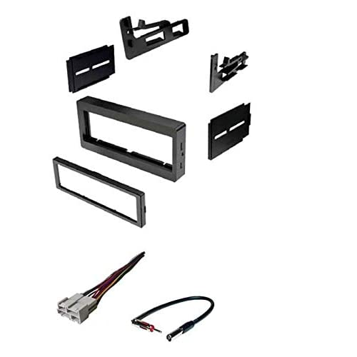cadillac radio wiring harness amazon com car stereo dash kit  wire harness  antenna adapter for  car stereo dash kit  wire harness