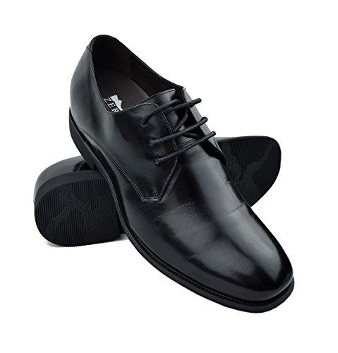 Zerimar Zapatos con Alzas Hombre| Zapatos de Hombre con Alzas Que Aumentan...