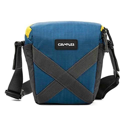 Crumpler QDT150-002 Quick Delight Toploader 150 Universal Schultertasche für Camcorder und Bridge Kamera blau