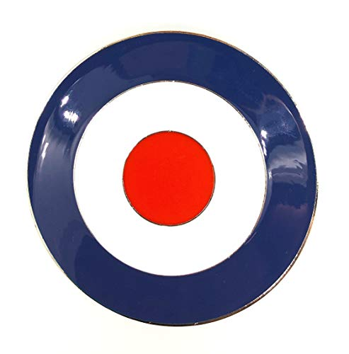 Gemelolandia Hebilla de Cinturón RAF UK 8cm | Complementos de Moda Unisex...