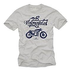 MAKAYA Regalos Originales - Camiseta Moto Hombre - Vintage CB 500