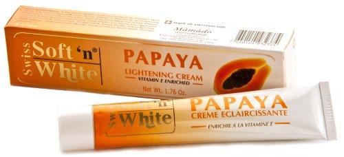 Mamado Papaya Lightening Cream 1.76oz enrichi à la vitamine E