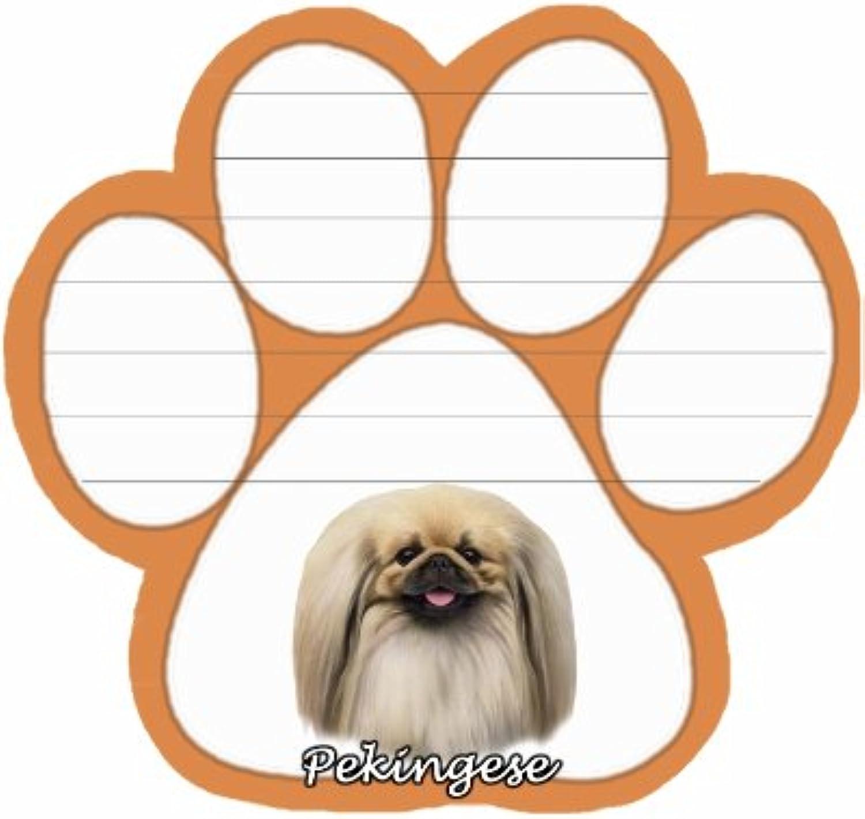 Pekinses Hund Paw magnetisch Note Pads B0067NGD32 | Schönes Aussehen