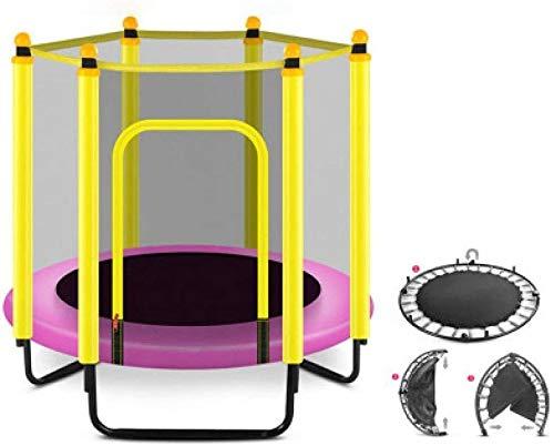Trampoline Enfants Trampoline for Enfants Trampolines Trampoline Rond avec boîtier Net- intérieur ou extérieur...