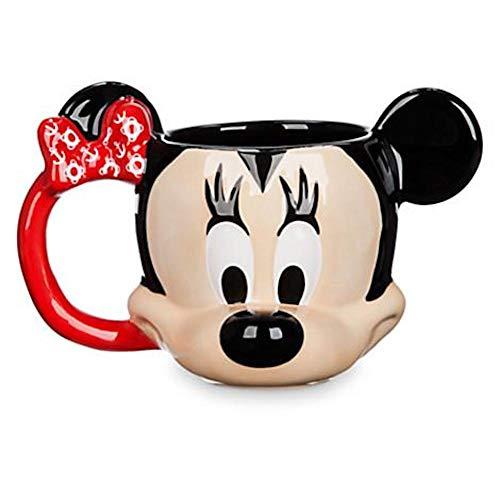 Disney Cruise Line Minnie Mouse Tasse à café sculptée
