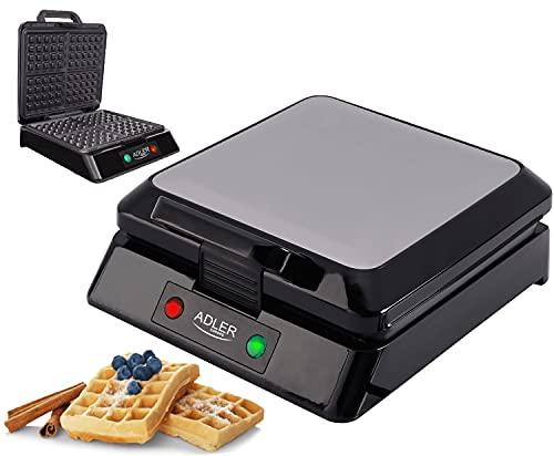 Waffeleisen   1500 Watt   Cool-Touch-Technologie   Antihaftbeschichtung   Waffelautomat   Elektrogrill   Wafflemaker   Paninigrill   Waffeltoaster   Waffle Maker