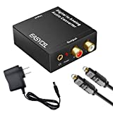 Easycel Audio Digital to Analog Converter DAC with 3.5mm Jack, Optical SPDIF Toslink...
