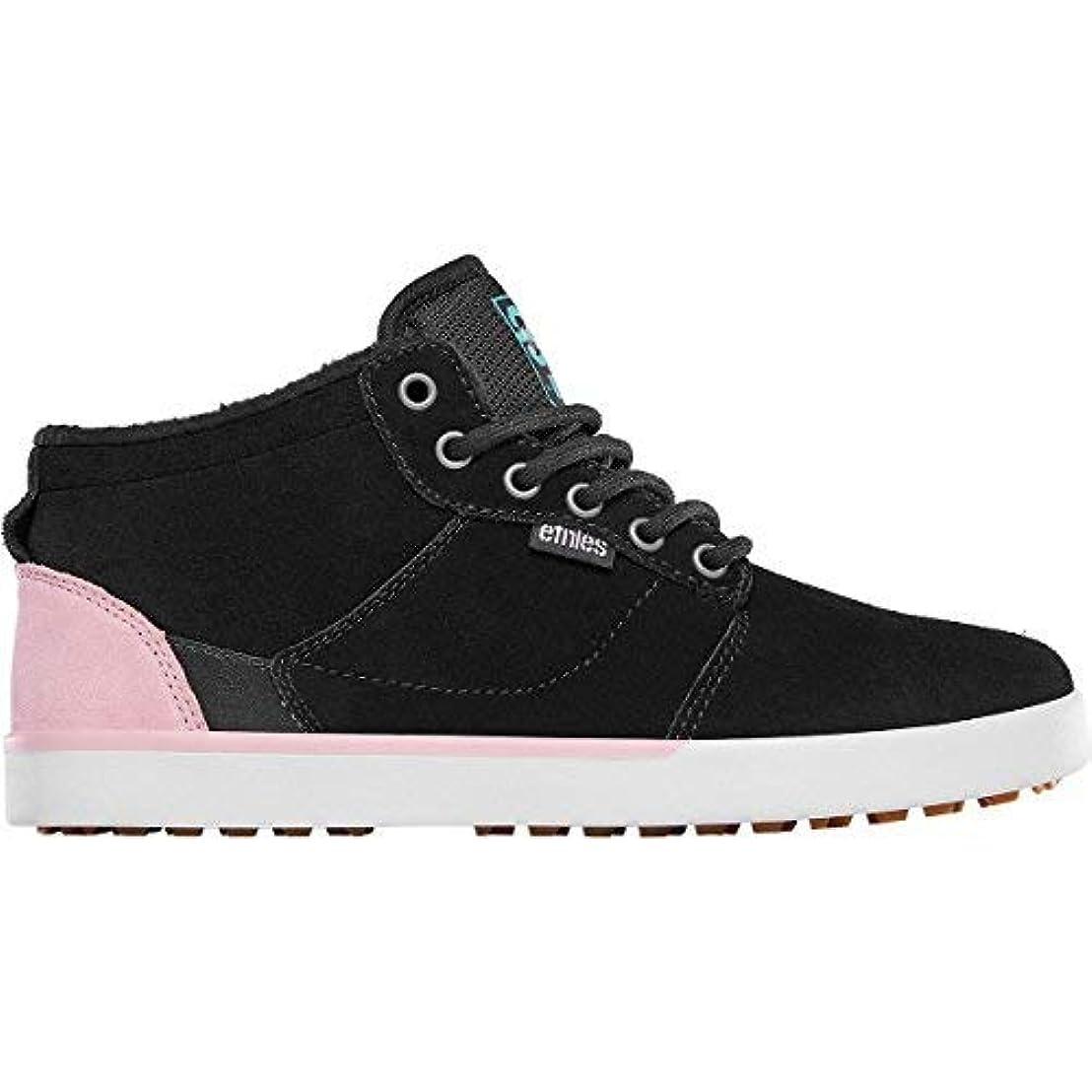 担当者ピービッシュ誇張するEtnies Women's Jefferson Mtw W's X 32 Skate Shoe Black 7 Medium US [並行輸入品]