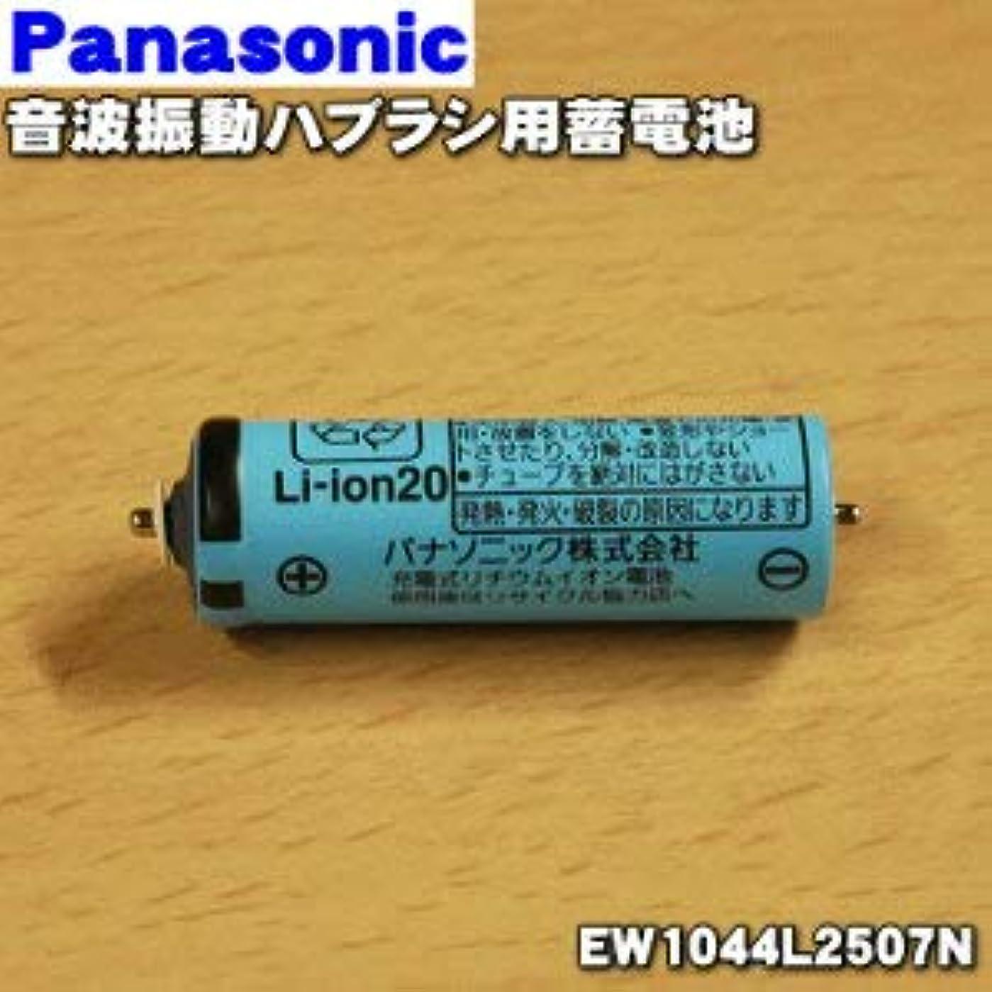 人間飛行場利得【ゆうパケット対応品】 パナソニック Panasonic 音波振動ハブラシ Doltz 蓄電池交換用蓄電池 EW1044L2507N