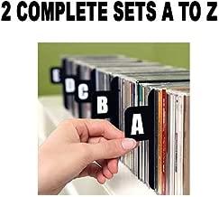 DVD DIVIDERS (Section Separators CD Dividers/DVD Dividers/ Bin Cards / Separators) 2 Sets