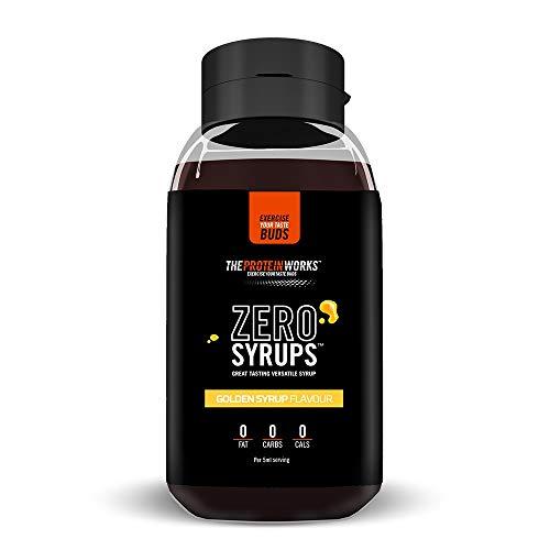 Zero Syrups | Kalorienfreie, Zuckerfreie, Kohlenhydratfreie, Fettfreie, Schuldfreie Dessertsoße | THE PROTEIN WORKS, Zuckerrohrsirup, 600ml