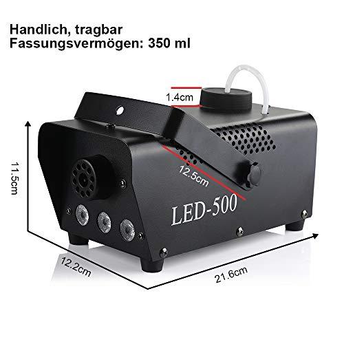Anpro 500W Nebelmaschine Erfahrungen & Preisvergleich