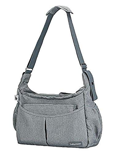 Babymoov Urban A043578 - Bolso maternal, color gris