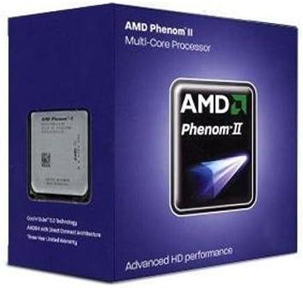 AMD Phenom II X4 840 Edition Deneb 3.2 GHz 4x512 KB L2 Cache Socket AM3 95W Quad-Core Processor - Retail HDX840WFGMBOX (Black)
