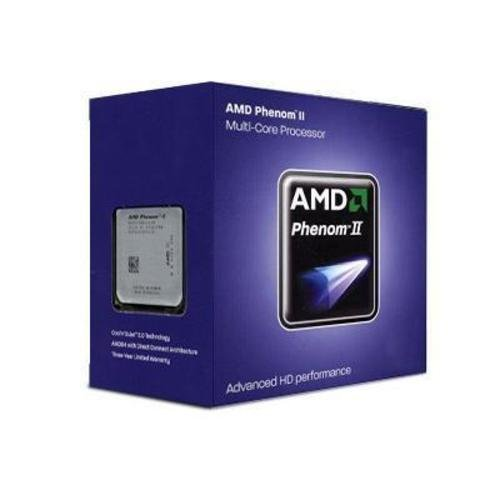 AMD Phenom II X4 840 Edition Deneb 3.2 GHz 4x512 KB L2 Cache Socket AM3 95W Quad-Core Processor...