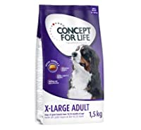Concept for Life X-Large Adult 6kg dry dog food is formulated to suit the specific nutritional needs of adult giant breed adult dogs. It provides your very large adult dog with a great-tasting, balanced diet for optimal all-round care. The nutritiona...