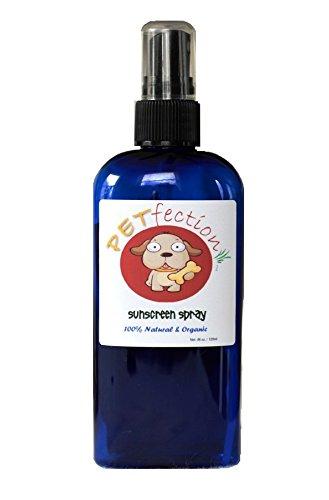 PETfection 100% Natural & Organic Dog Sunscreen Spray