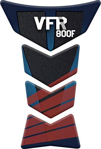 Red Tankpad Motorad Draht Muster Tankschutz Polymer KOMPATIBEL Yamaha MT-07