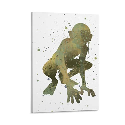 Poster Herr der Ringe Öl-Poster – Aragorn – Legolas – Gandalf – Gimli – Frodo Baggins (6) Poster dekoratives Gemälde auf Leinwand Wandkunst Wohnzimmer Poster Schlafzimmer Gemälde 40 x 60 cm
