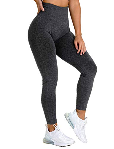 SHAPERIN Damen PO Push up Leggings Butt Lifter Cellulite Hose Anti-cellulitte Kompressionshose Gym Leggings Blickdicht Jogginghose Sport Tights Gegen Cellulite für Fitness(#2 Schwarz,L)