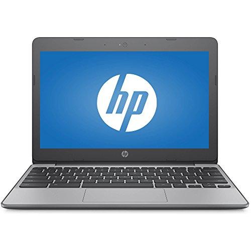 Premium HP High Performance 11.6in HD Chromebook - Intel Dual-Core Celeron N3060 Up to 2.48GHz, 4GB DDR3, 16GB eMMC, 802.11bgn, Bluetooth 4.0, USB 3.1, Webcam, HDMI, Chrome OS (Renewed)