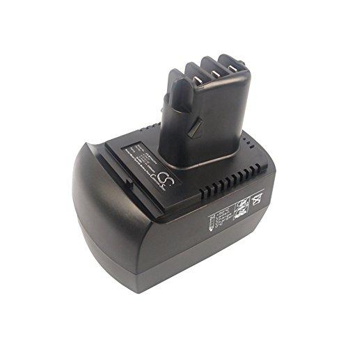 cellePhone Batterie Ni-MH Compatible avec Metabo BS 12 SP/BSZ 12 (Remplacement pour 6.02151.50) - 3300 mAh / 12V