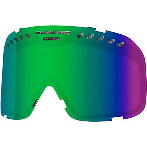 Smith Project Snow Goggle Replacement Lens (Green Sol-X Mirror)