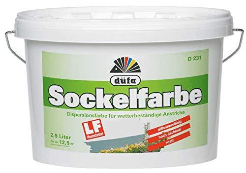 Düfa Sockelfarbe D231 (2,5 l, Grau)