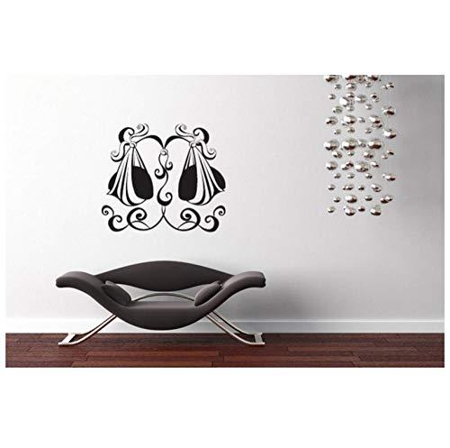 Wandtattoo Waage Sternzeichen Vinyl Wandaufkleber Abnehmbare Modernes Design Mädchen Schlafzimmer Dekor Home Kunstwand Innen DIY65x57cm