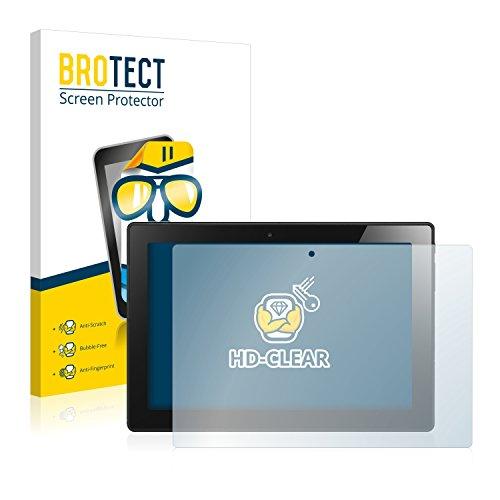 BROTECT Schutzfolie kompatibel mit Lenovo IdeaPad Miix 310 (2 Stück) klare Bildschirmschutz-Folie