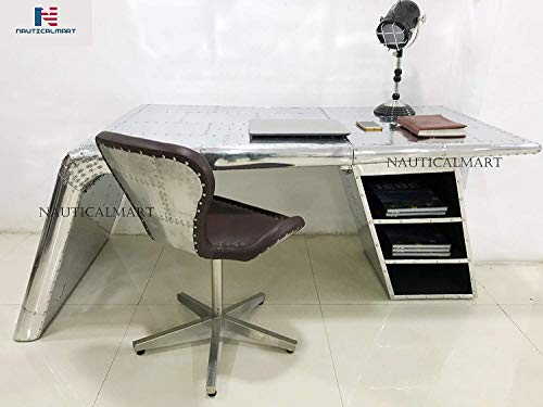 Wing Desk Beautiful Handmade Aluminum Desk Furniture