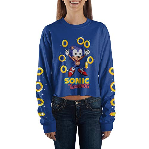 Sonic The Hedgehog Crop Top Shirt Gift Dino