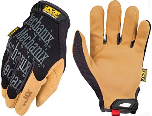 Mechanix Wear - Material4X Original Gloves (Medium, Brown/Black)