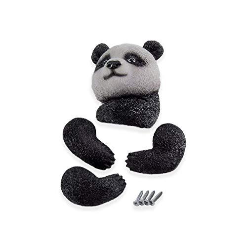 MW Handel Baumgucker Dekofigur Baumfigur Tier Dekotier Baumtier Baumhänger neu (Pandabär)