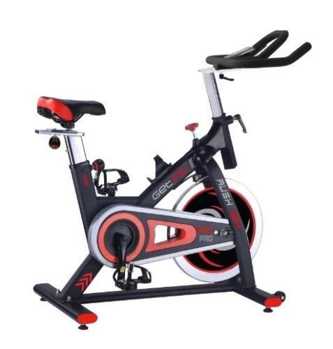 Getfit - Bicicleta estática para spinning 424 Race Pro de 22 kg de resistencia