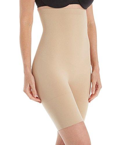 Jones New York Women's Seamless Shapewear High-Waist Brief Thigh Slimmer 712195 L Nude