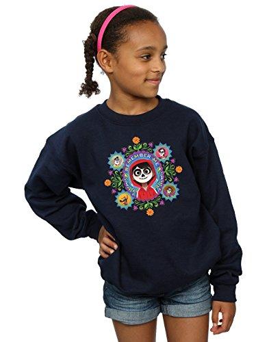 Disney niñas Coco Remember Me Camisa De Entrenamiento 5-6 Years Armada