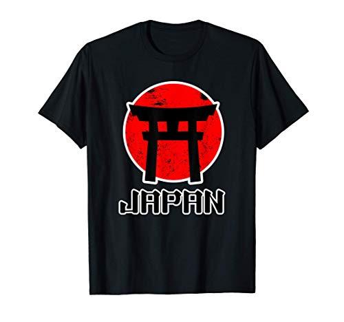 Puerta Torii japonesa para mujeres hombres niños - Japón Camiseta