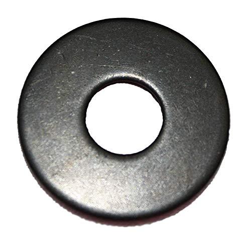 Schwarze Unterlegscheiben DIN 9021 Karosseriescheibe Edelstahl M3, M4, M5, M6, M8, M10 (25, M6)