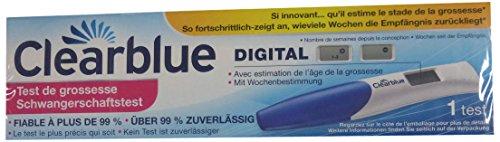 Clearblue - Test Di Gravidanza Digitale Con Indicatore Delle Settimane - 1 Pezzo