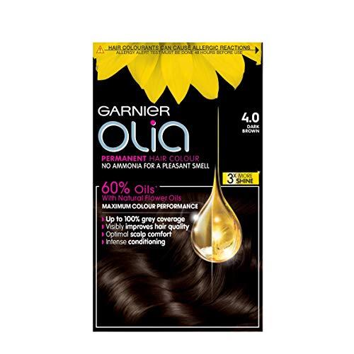 Garnier Olia Permanent 4.0 Dark Brown Hair Dye