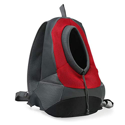 Angle-w diseño Elegante, Viajes Sencillos, Paño de Oxford Malla Transpirable Mochila Mochila Portátil Portátil Portátil Portador de Mochila Vamos mas lejos (Color : Red, Size : S)