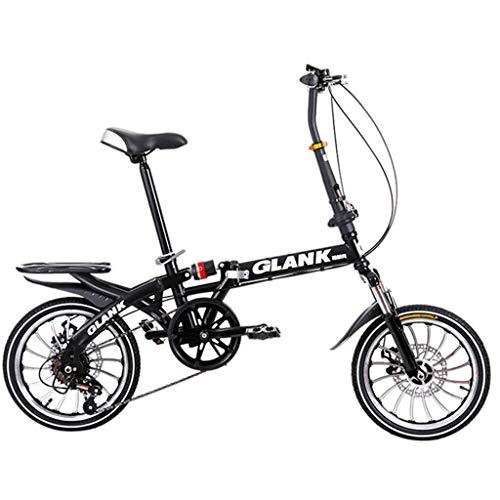 Caisedemeng Bicicleta eléctrica móvil, 10 segundos, plegable de 16 pulgadas, para niños,...