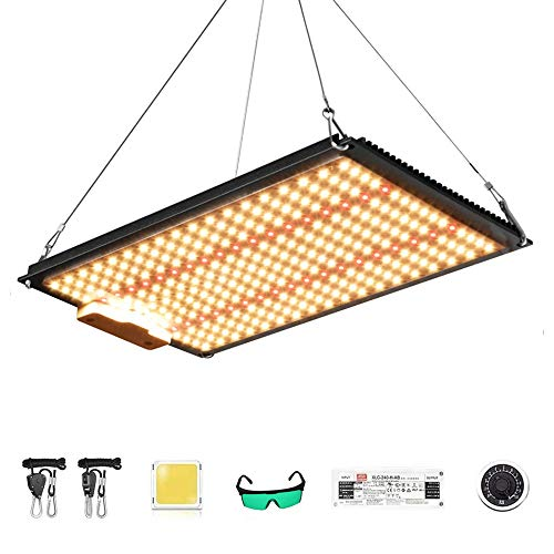 1000W LED Grow Lights, 288pcs LM-301B Chip Full Spectrum 3000K + 660NM + 730NM Dimming Plant Growing Lamps for Indoor Greenhouse Tent