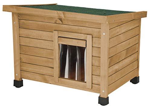 Kerbl Rustica - Casa para Gatos (57 x 45 x 43 cm)