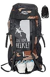 POLESTAR 55 Ltrs 24 cm Trekking Backpack & Rain Cover,POLE STAR