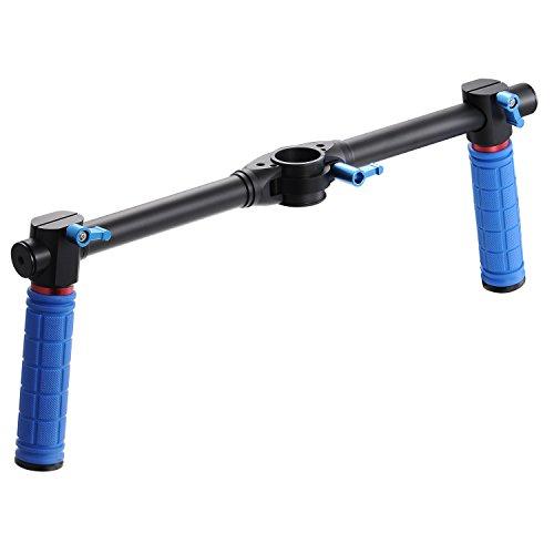 Dshot Dual Handheld Grip Bracket Kit Gimbal Mango extendido para Zhiyun Crane V2 Crane-M Suave 3 Feiyu Tech MG Lite MG V2 Estabilizadores de Gimbal de Mano