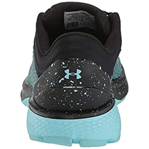 Under Armour Women's Charged Escape 3 Running Shoe, Black (004)/Blue Haze, 12