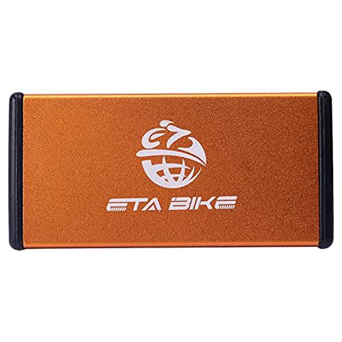 Kit de parches de neumáticos internos, con pulidor y caja de metal portátil sin pegamento para reparación de neumáticos, herramienta de reparación de bicicletas
